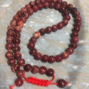 NWOT ✨ Red Magnesite Prayer Beads ✨